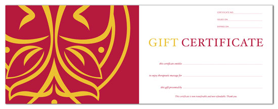 gift certificates products adamsville healing arts center